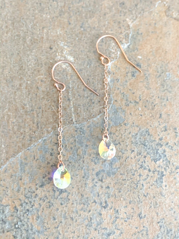 Hanging Swarovski Earrings