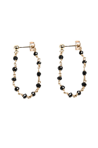 Gem Chain Earrings