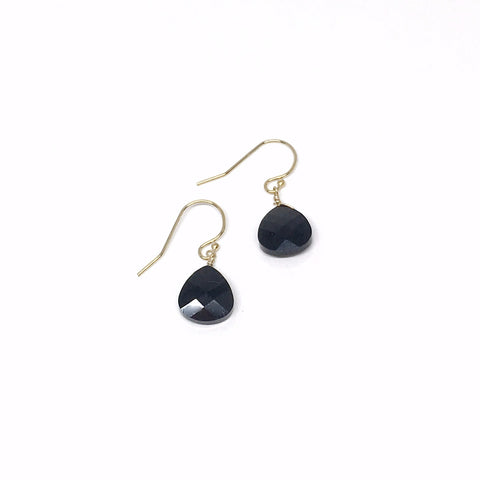 Facet Drop Swarovski Earrings
