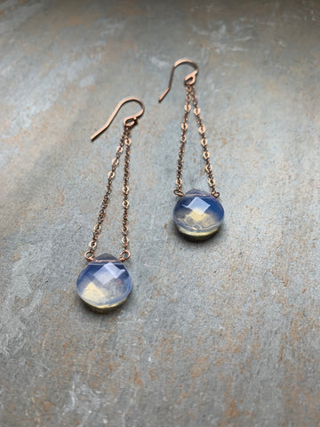 Hanging Opalite Earrings