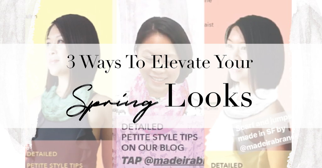 How to Look Taller: Style Tips Every Petite Women Should Know — 3 Simple Ways to Elevate Spring Look MADEIRA - Petite women clothing