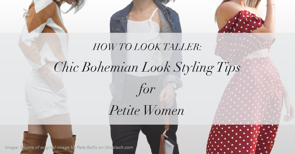 How to Look Taller: Style Tips Every Petite Women Should Know — Chic Bohemian Look. MADEIRA - Petite women clothing