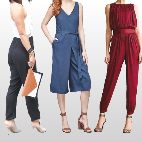 How to Look Taller: Style Tips Every Petite Women Should Know #2 — Jumpsuit & Jumper. MADEIRA - Petite women clothing