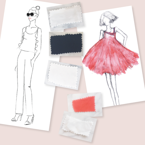 My Design Process: Turning Inspiration into Short Girl Fashion and Petite Womens Clothing. MADEIRA Blog Post