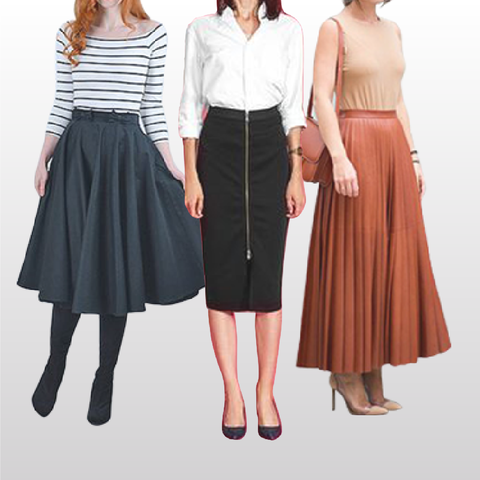How to Look Taller: Style Tips Every Petite Women Should Know #4 —Skirt MADEIRA - Petite women clothing
