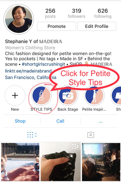 How to Look Taller: Style Tips Every Petite Women Should Know — 4 Simple Ways to Elevate Spring Look MADEIRA - Petite women clothing Insta Story Highlights