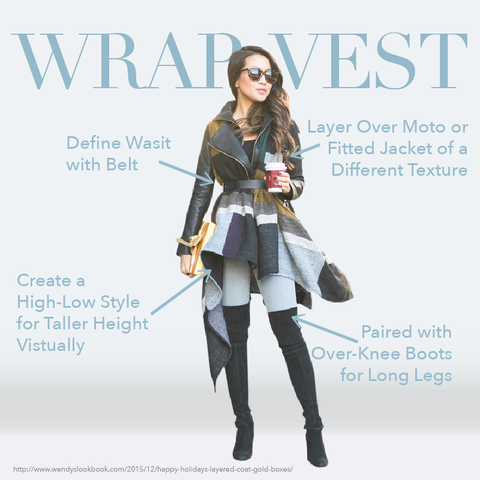 How to Look Taller: Style Tips Every Petite Women Should Know #7 — Poncho, scarf, wraps, kimono, cape for winter, holiday, Thanksgiving and Christmas outfit ideas from extrapetite, wendyslookbook, anthropologie and loomed. MADEIRA - Petite women clothing