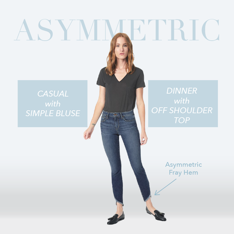 How to Look Taller: Style Tips Every Petite Women Should Know #5 — fray and step crop jeans from Joe's Jeans, Mother Denim and express. MADEIRA - Petite women clothing