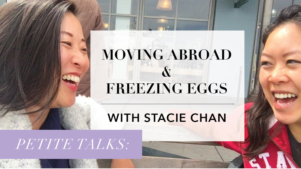 "Petite Talks: Moving Abroad and Freezing Eggs. A Video Interview of Our Petite Fit Model and Google Search Partnerships Manager, Stacie Chan (5'0"") on The Blog of Petite Fashion Brand MADEIRA"