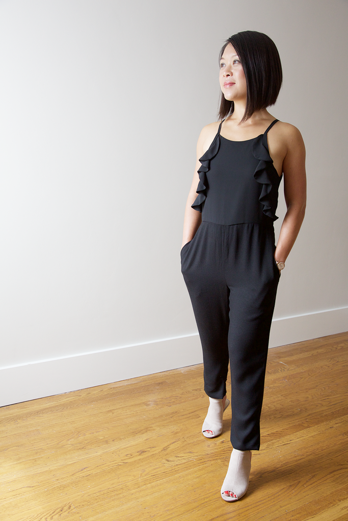 Madeline Jumpsuit - Black (low in stock)