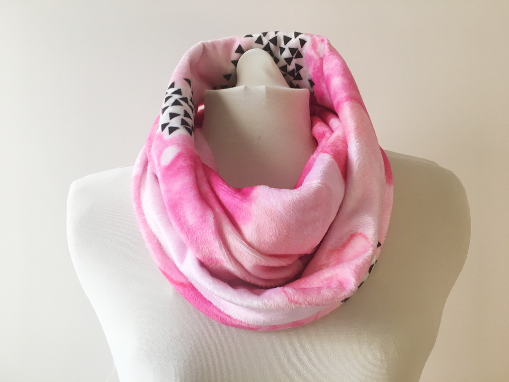 infinity pink silk product and sparksanddaughters original anniversary daughters scarf by personalised sparks