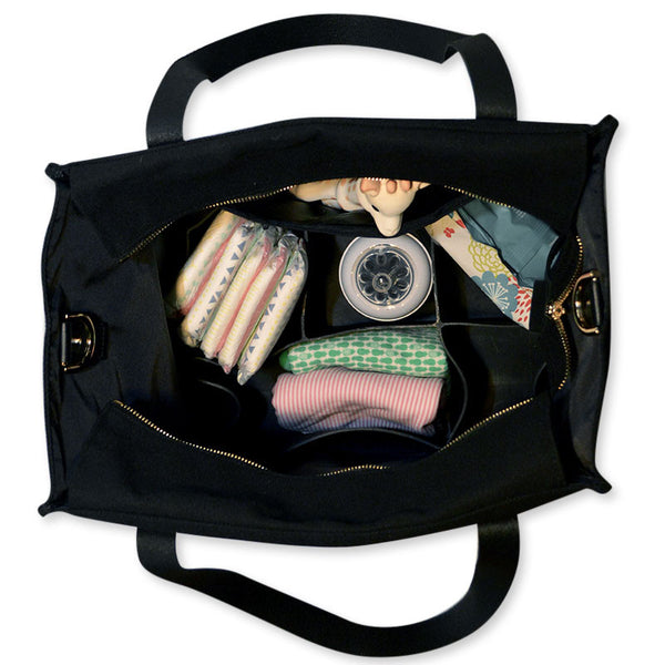 everyday tote | chalkboard black