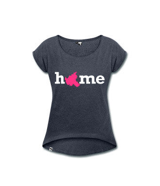 "T-Shirt ""Hamburg"" - Motiv ""Home"" - Damen"