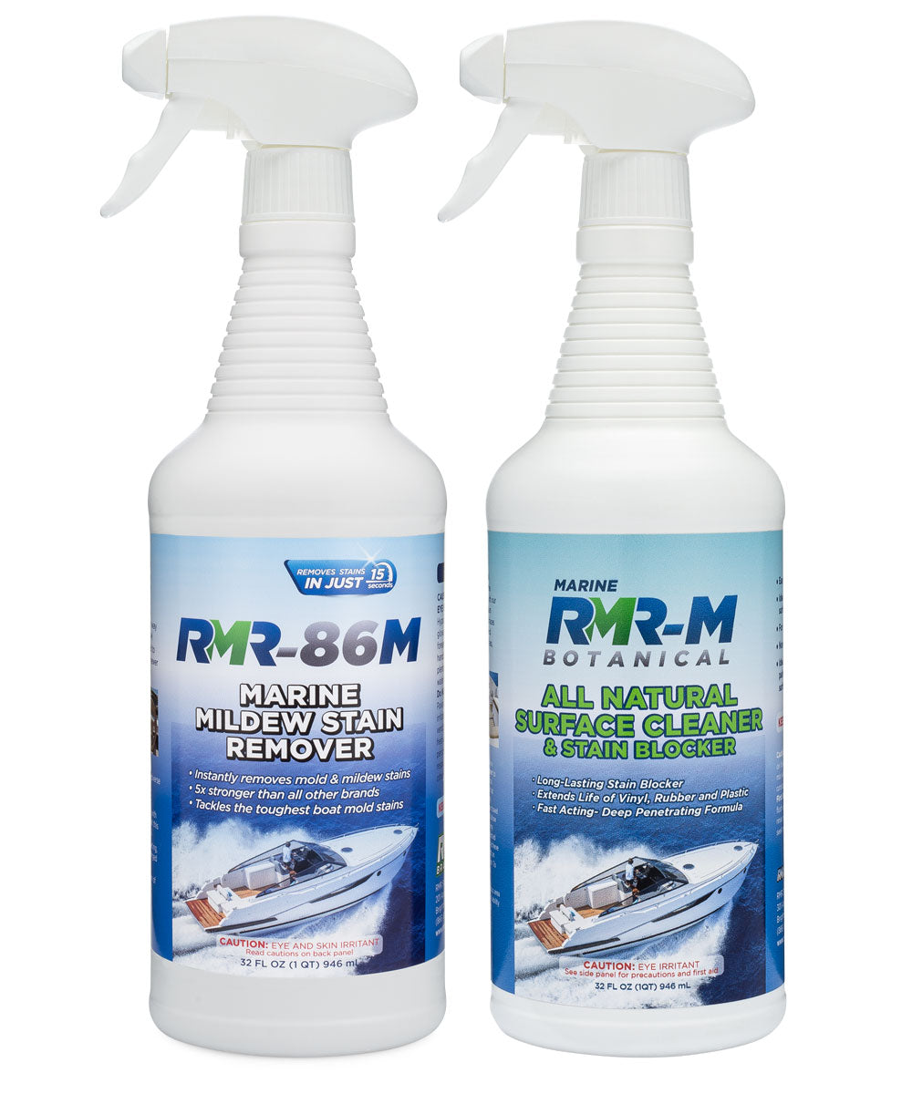 Marine Mold & Mildew Stain Remover
