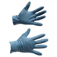Nitrile Gloves, 8-Mil, Powder-Free, Blue (50 PK) - RMR Solutions, LLC