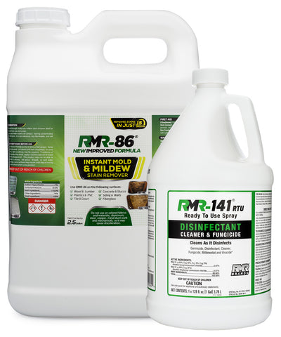 Mold Kill, Clean and Prevent Starter Bundle