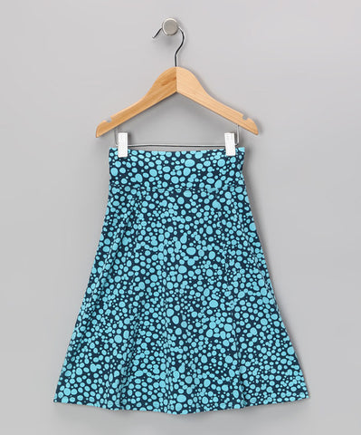 Blue Bubbles Sun Skirt
