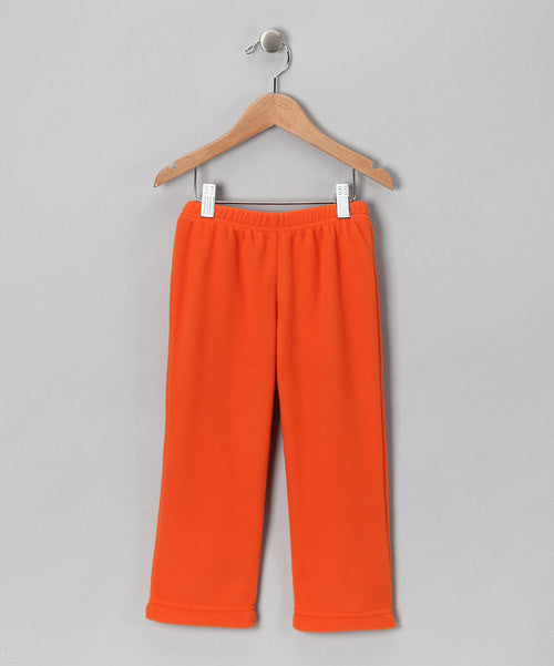 Orange Fleece Pant