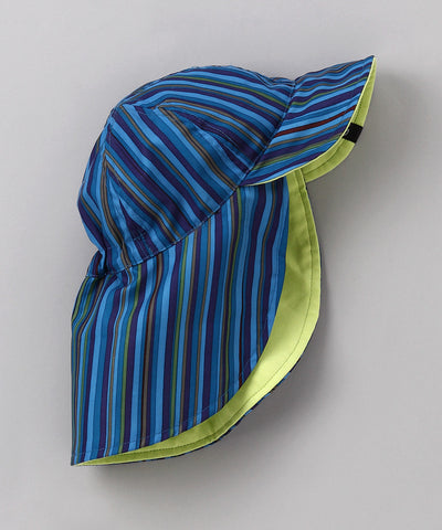 Blue Stripe Reversible Safari Hat
