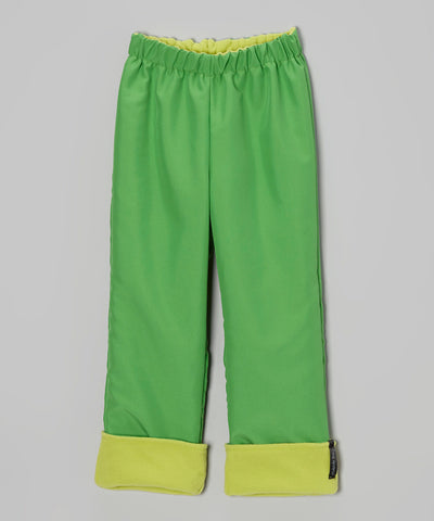 Green 2 Layer Windproof Pant
