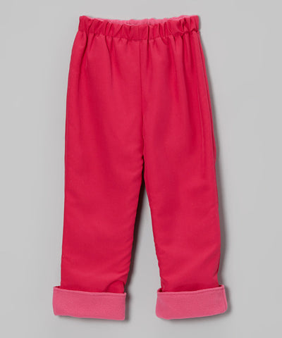 Pink 2 Layer Windproof Pant