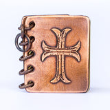 All Is Well With My Soul - Metal Book Pendant