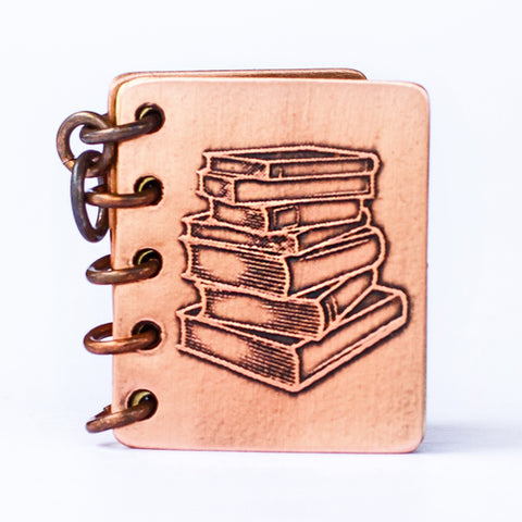 If You Can Read This, Thank a Teacher - Metal Book Pendant