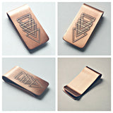 Deco Design - Etched Money Clip
