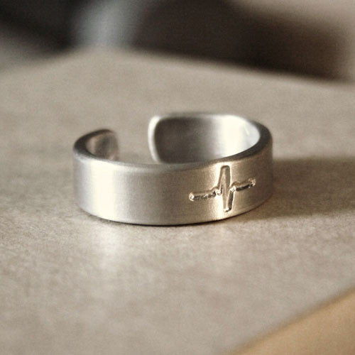 Heartbeat Aluminum Ring