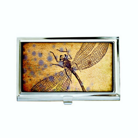 Dragonfly Business Card Case