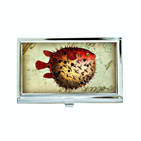 Pufferfish Fig.1 Business Card Case