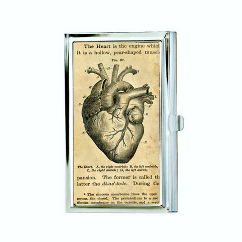 Anatomical Heart Business Card Case