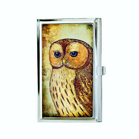 Owl Business Card Case