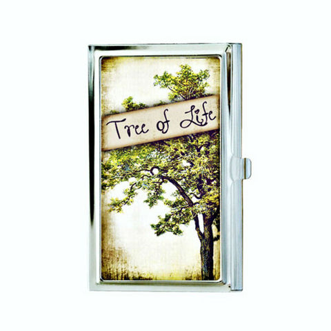 Tree of Life Business Card Case