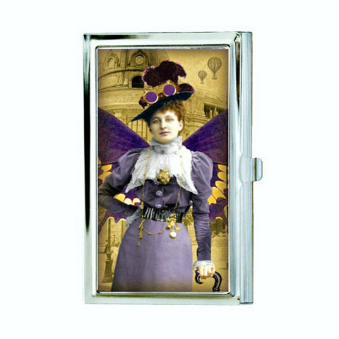 Victorian Fairy Business Card Case