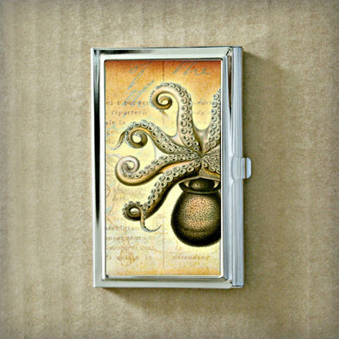 Octopus Fig.1 Business Card Case