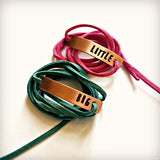 Big Little Sorority Copper Wrap Bracelets