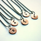 Copper Initial Charm