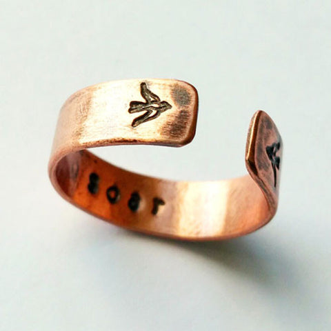 Soar Copper Ring