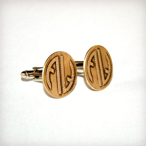 Custom Etched Cufflinks