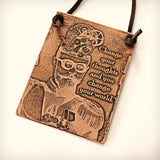 Steampunk Man, Change Your Thoughts Etched Plaque
