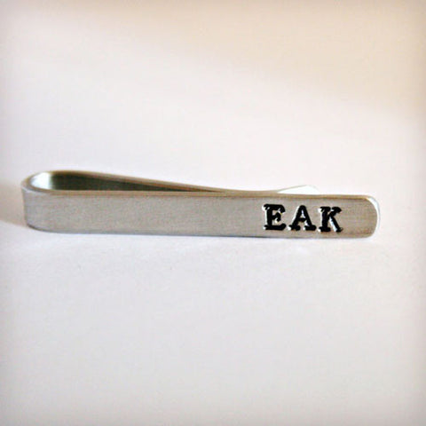 Aluminum Tie Clip - Available in Copper & Brass