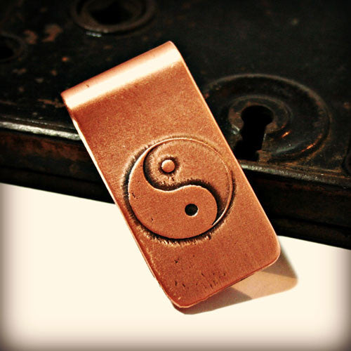 Yin Yang - Etched Money Clip