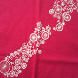 Ladies Hot Pink NZ Bike Tee - Limited Stock