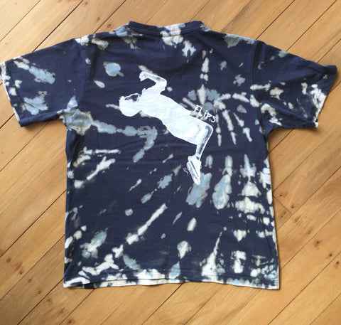 Kids Grey Tie Dye Flips T-Shirt