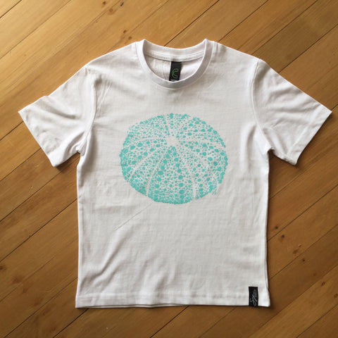 Kids White Kina T-shirt