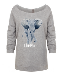 Jayne's Elephant in Grey