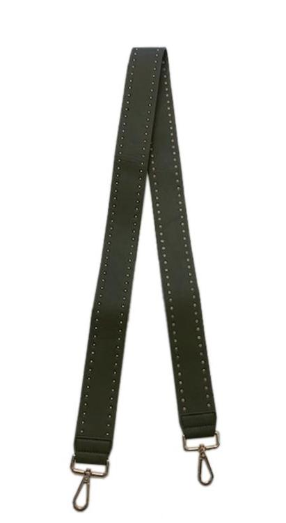 Soft Faux Leather Stud Strap - ASSORTED