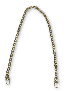 "26"" Medium Chain Strap/CHN5- Gold"