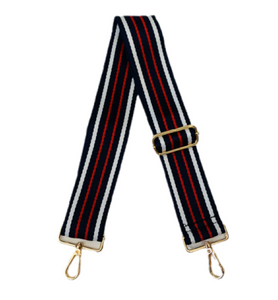 "2"" Adjustable Multi Horizontal Stripe Strap- ASSORTED"
